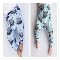 Wholesale Kids INS PP Pants Baby Harem Pants Boys Clothes Autumn Infant Toddler Baby Girls Boys Trousers Pants Baby Leggings Baby Clothes