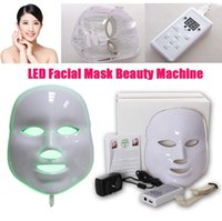 anti aging led device - 2016 hot selling colors Photodynamic LED Facial Mask Skin Rejuvenation Electric Device Anti Aging Face Mask Machine Therapy Beauty Machine