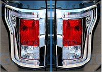 Wholesale Pair of F150 Truck Chrome Taillight Tail Light Trim Bezel Cover