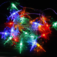 Wholesale Dragonfly Lights LED Holiday Lighting Strings Christmas Lamp Garland Chandelier for New Year Fairy Wedding Garden Decoration