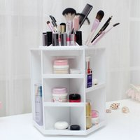 Wholesale 360 degree cosmetics rotary storage box Princess cosmetics box storage box High quality MR074