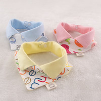 Cheap as the picture bibs Best Cotton mix colours burp cloths