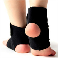 foot ankle foot brace - 1 Pair Self heating Tourmaline Far Infrared Magnetic Therapy Ankle Support Brace Massager Foot Care