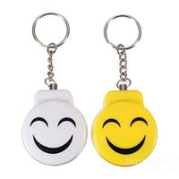 Wholesale easy pull clasp smile against the Wolf pendant mobile phone alarm key chain alarm defend Wolf key chain
