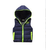 Wholesale 2016 new style jacket for men and women baby boys and girls vest vest quality children warm in the winter the children vest jacket