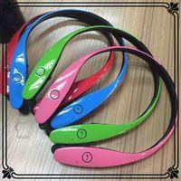 Wholesale 8 Colors HBS HBS900 Tone Infinim Bluetooth Earphone Neckbands Wireless Stereo Earphones Bluetooth V4 Sport Headphone