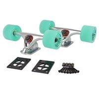 skateboard truck - Longboard Skateboard Trucks Combo set w mm Wheels quot Truck Package