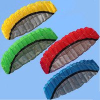 Wholesale Outdoor Sports Hot Sale m Dual Line Stunt Parafoil Nylon Power Kite Flying Tool