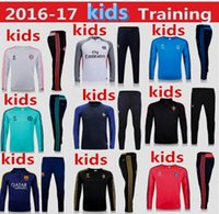 barcelona clothing - 2016 real madrid barcelona psg jerseys Portugal Bayern Munich juventus France chelsea Football Shirt kids kit Training clothes