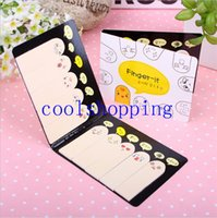 Wholesale Cute Creative Finger Memo Pad Sticky Notes Kawaii Paper Sticker Papeleria Stationery Office School Supplies