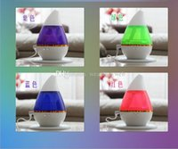 Wholesale 250ml Tear Drop Ultrasonic Humidifier USB Humidifier Car Aromatherapy Essential Oil Diffuser Atomizer Air Purifier Mist Maker Fogger
