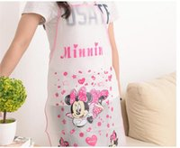 Wholesale cartoon Apron for children or adults kid cooking apron apron kids aprons chef Painting apron hello kitty minnie Doraemon children Smock DHL