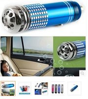 Wholesale Mini Air Purifier New V Mini Auto Car Fresh Air Ionic Purifier Oxygen Bar Ozone Ionizer Cleaner