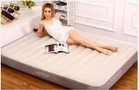 Wholesale INTEX single inflatable bed inflatable beds widened broaching
