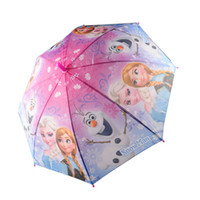 Wholesale Frozen Umbrella Frozen Princess Elsa Anna Children Umbrella cm Frozen Series