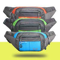 Wholesale Sport storage bag Waist Bag Holder Running Bag Waist Pack for Men Women Fanny Pack Belt Bag Cycling Camping
