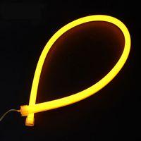 Wholesale Headlight Parking Lamps Flexible cm DRL Angel Eyes light LED Tube Strip Daytime Running Lights