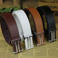 Wholesale New Designer Famous Fashion Leather Popular Belt Brand Mens Belts Luxury Classic Unisex Genuine PU Leather Belt