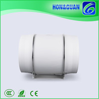 Wholesale Hon Guan High Airflow Industrial HF P Inch mm Mixed Flow Speed In line Fan Extractor or Supply
