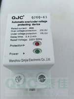 Wholesale 40A V Automatic over under voltage protecting device with red green indicator light