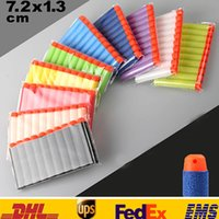 Wholesale New cm Refill Foam Darts for Nerf N strike Elite Series Blasters Toy Gun As Gifts Seals168 GZ16 G01