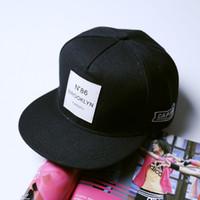 Wholesale 2016 Cayler Sons Gorras Hip Hop Letter N86 BROOKLYN TWENTY Mens Baseball Cap Brand Women Hat Black Snapback Caps Hats Adjustable