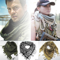 Active arab specials - New Thicken outdoor Arab magic scarfs The special free soldier head scarfs shawl made of pure cotton Scarves