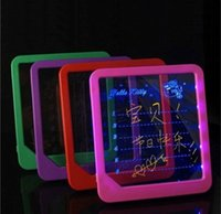 Wholesale LED message board Led Writing Board led display fluorescence plate with a highlighter free to write