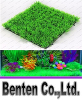 Wholesale 2016 New arrival hot sale Soft artificial turf aquarium decoration fish tank lawn LLFA8961