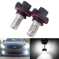Wholesale 2pcs High Power w H13 Car LED Fog Light Car Styling Daylight Lamp V V DC External Light