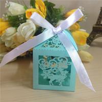 Wholesale Unique Hand Bag Shape Wedding Party Gift Packaging Paper Box Wedding Favor Boxes