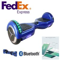 Wholesale LED Scooter Bluetooth Bag Hoverboard Electric Skateboard Smart Scooter Two Wheel inch Balancing Wheel Upgrade Mainboard App Control
