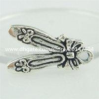 ballet shoes necklace - Details about Alloy Antique Silver Vintage Bowknot Ballet Shoe shape Pendant Charm