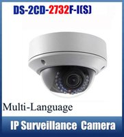 Wholesale HIKVISION DS CD2732F IS MP Verifocal Network Audio mm PoE Dome IP Camera