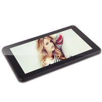 Wholesale 9 inch Tablet PC Quad Core AllWinner A33 Android Tablets Dual camera G GB Capacitive Touch Screen Bluetooth