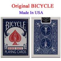 bicycle playing cards standard - Original Bicycle Poker Blue or Red Bicycle Magic Regular Playing Cards Rider Back Standard Decks Magic Trick