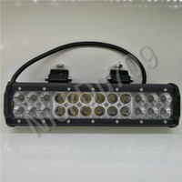 Wholesale 12Inch W Automotive Led Lamps Work Lights Bar For Trucks Led Driving Light v Spot Lights Car Headlights Spot