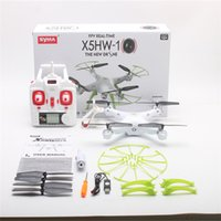 Wholesale SYMA X5HW WIFI helicopter aircraft With MP HD Camera G CH Axis RC Quadcopter Real Time Video