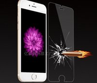 anti slip paper - For Iphone S Tempered Glass Screen Protectors Anti slip Film mm D H Explosion Proof For i6s with Paper Package