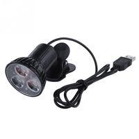 Wholesale Black USB Flexible Super Bright LED Laptop Notebook PC Clip On Swivel Light Lamp