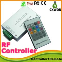 Wholesale High Quality RF Remote Controller DC12V V A W Key remote For RGB SMD LED Strip Controller CXW10012