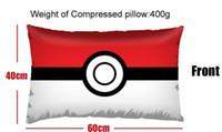 Wholesale Big Size Pocket Monster Poke mon Poke Ball Plush Stuffed Toy Pillow CM