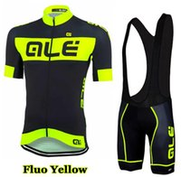 bicycle shirts - 2016 Ale Fluo Cycling Jersey Men s Short Sleeve Bicycle Cycling Clothing Bike Wear Shirts Outdoor Maillot Ropa Ciclismo Mtb
