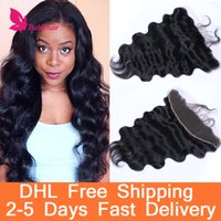 Wholesale Free Lace Frontal Closures x4 Unprocessed Brazilian Body Wave Virgin Hair Cheap Lace Frontals Free Part Lace Frontals For Sale