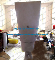 dental costumes - Plain White Toothpaste Dentifrice Dental Cream Unguent Ointment Salve Mascot Costume Cartoon Character Short Legs ZZ1537 Free Sh