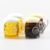 beer flowers - Funny simulation bubble glass beer mug coffee cup flower tea cups Creative beer modeling