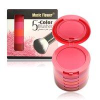Wholesale Professional Makeup Colors Makeup Blush Face Blusher Powder Palette Cosmetics