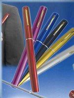 Wholesale New Aluminum Alloy Mini Pen Fishing Rod Golden Fishing Reel Fishing Rod Superhard Pole Fishing Pole Colors