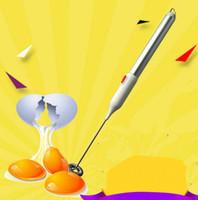 aluminum egg - Aluminum alloy household electric egg beater Mini coffee stirrer small milk stir bar kitchen gadgets