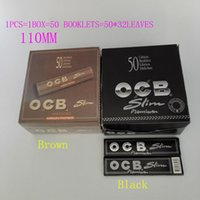 best rolling papers - OCB CLONE Premium Slim Cigarette Papers Natural Arabic Gum Rolling Paper Pure Thin Smoking Cigarette Paper booklets mm best